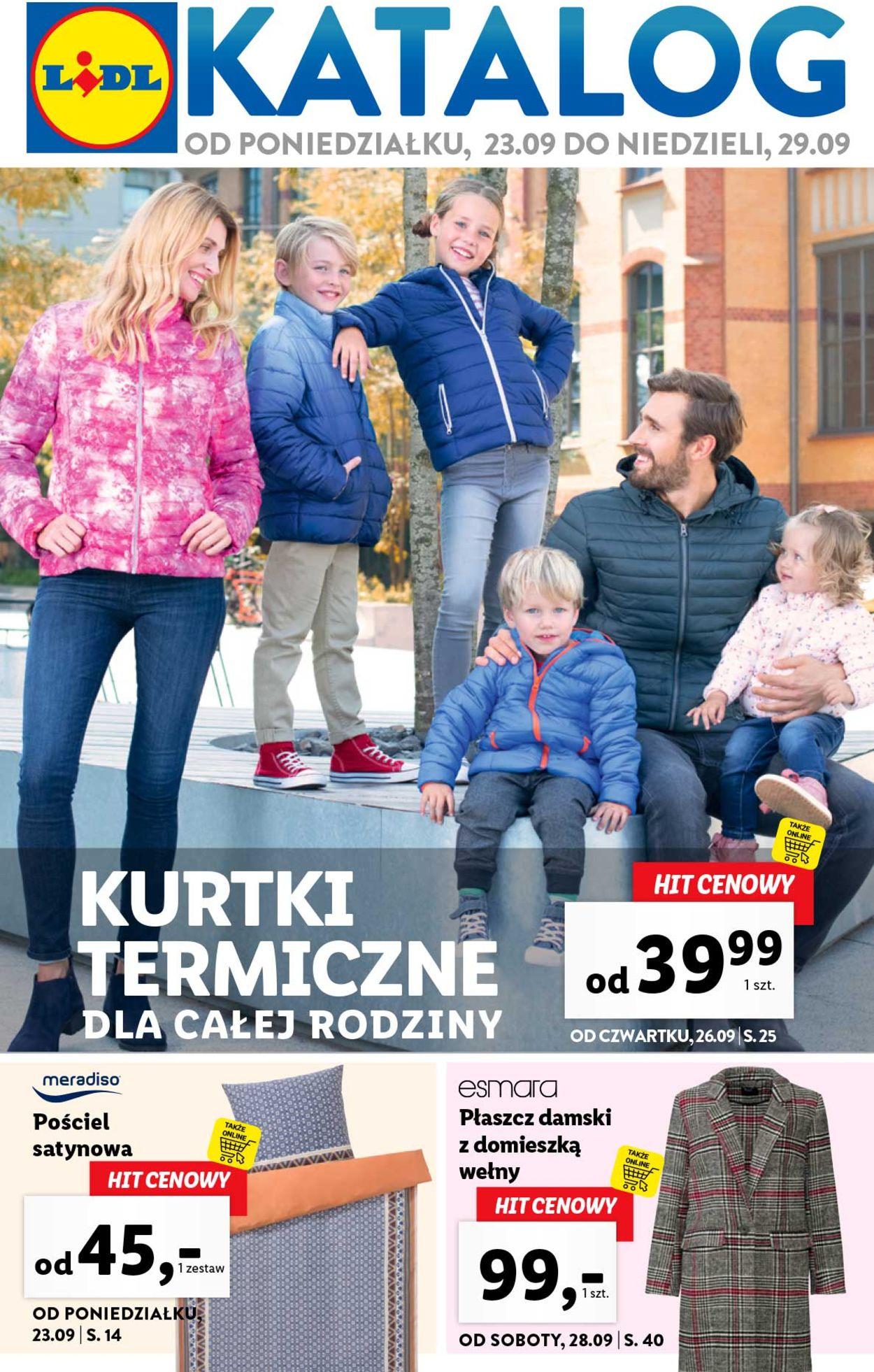 Gazetka promocyjna LIDL - 23.09-29.09.2019