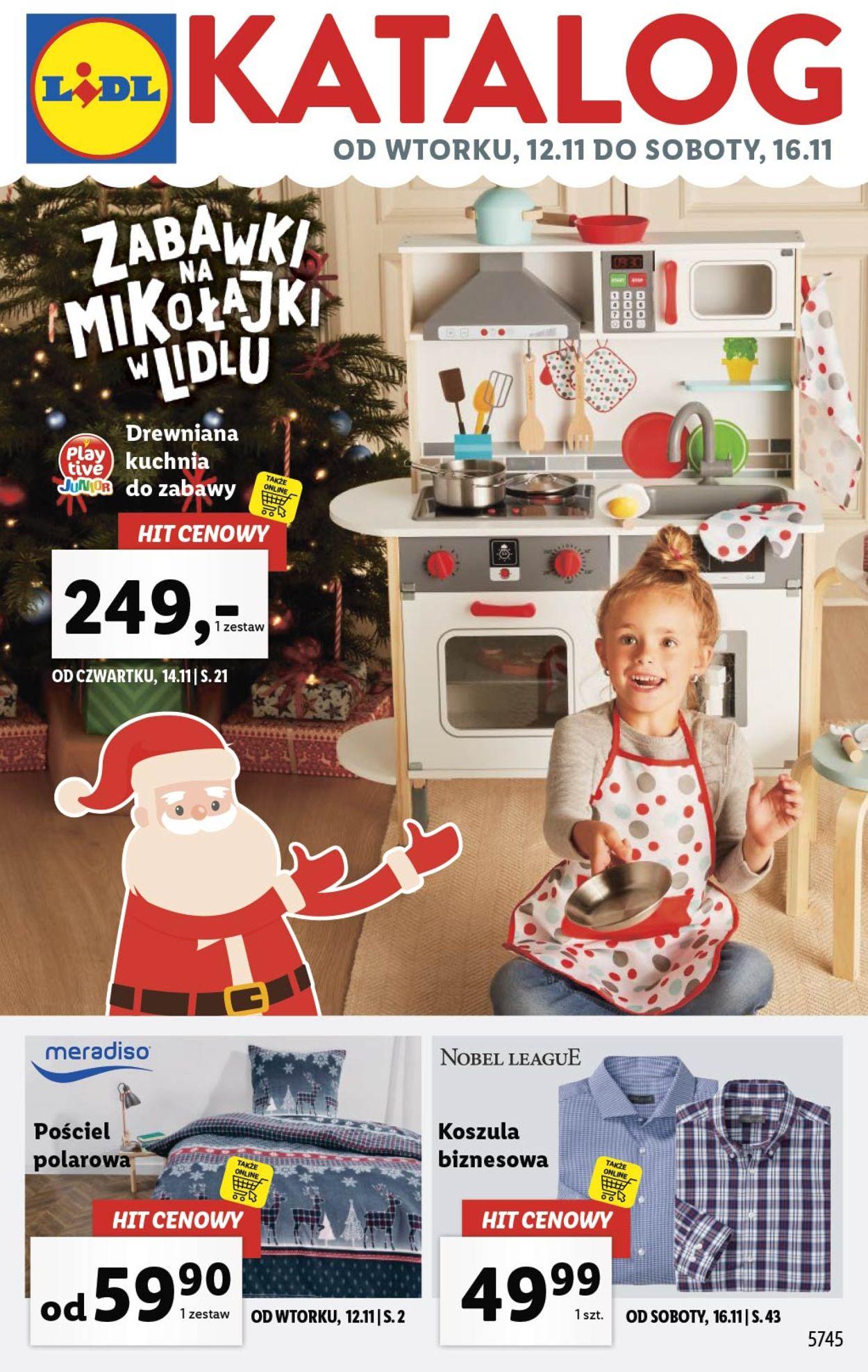 Gazetka promocyjna LIDL - 12.11-16.11.2019