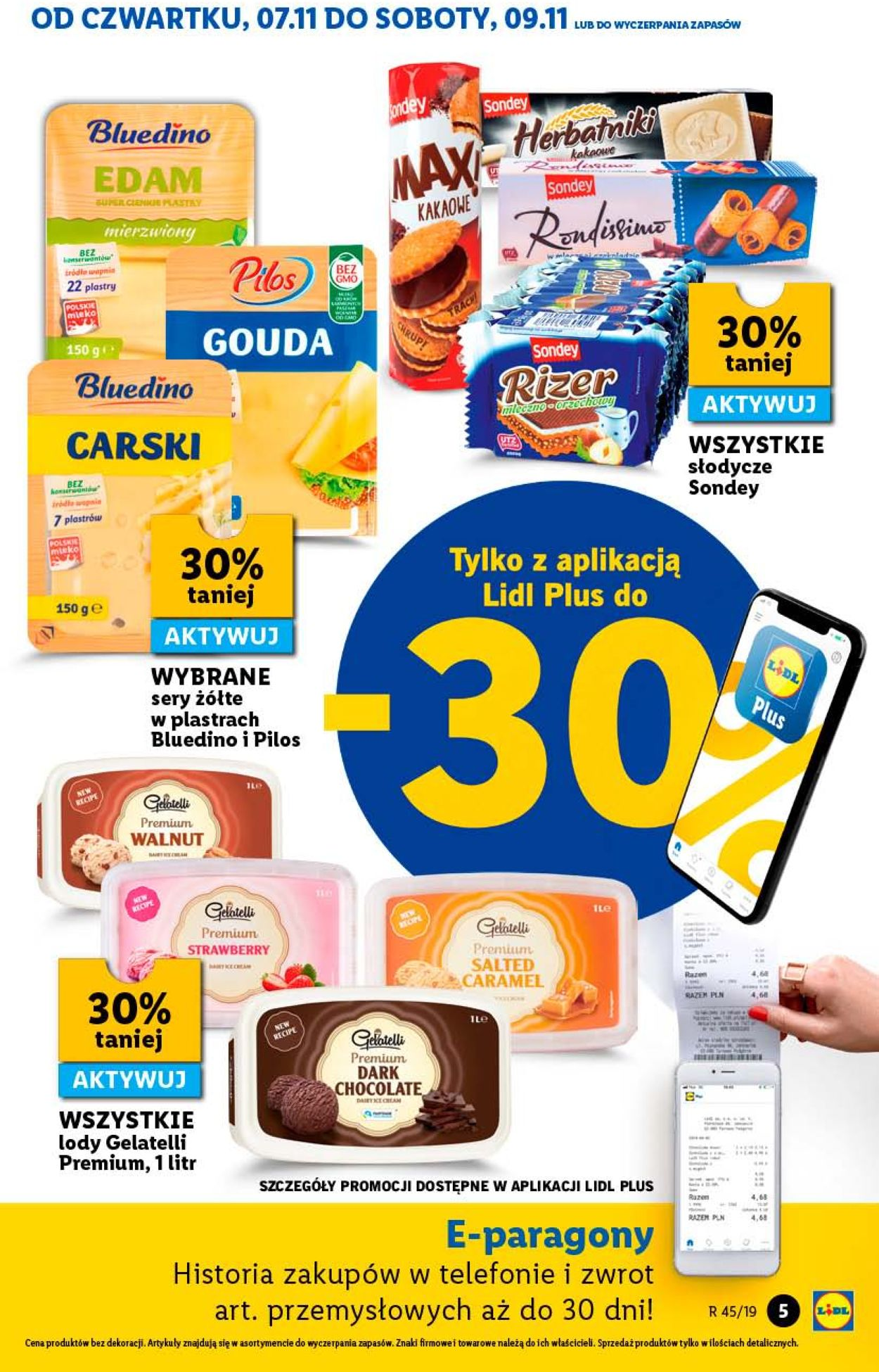 Gazetka promocyjna LIDL - 07.11-09.11.2019 (Strona 5)