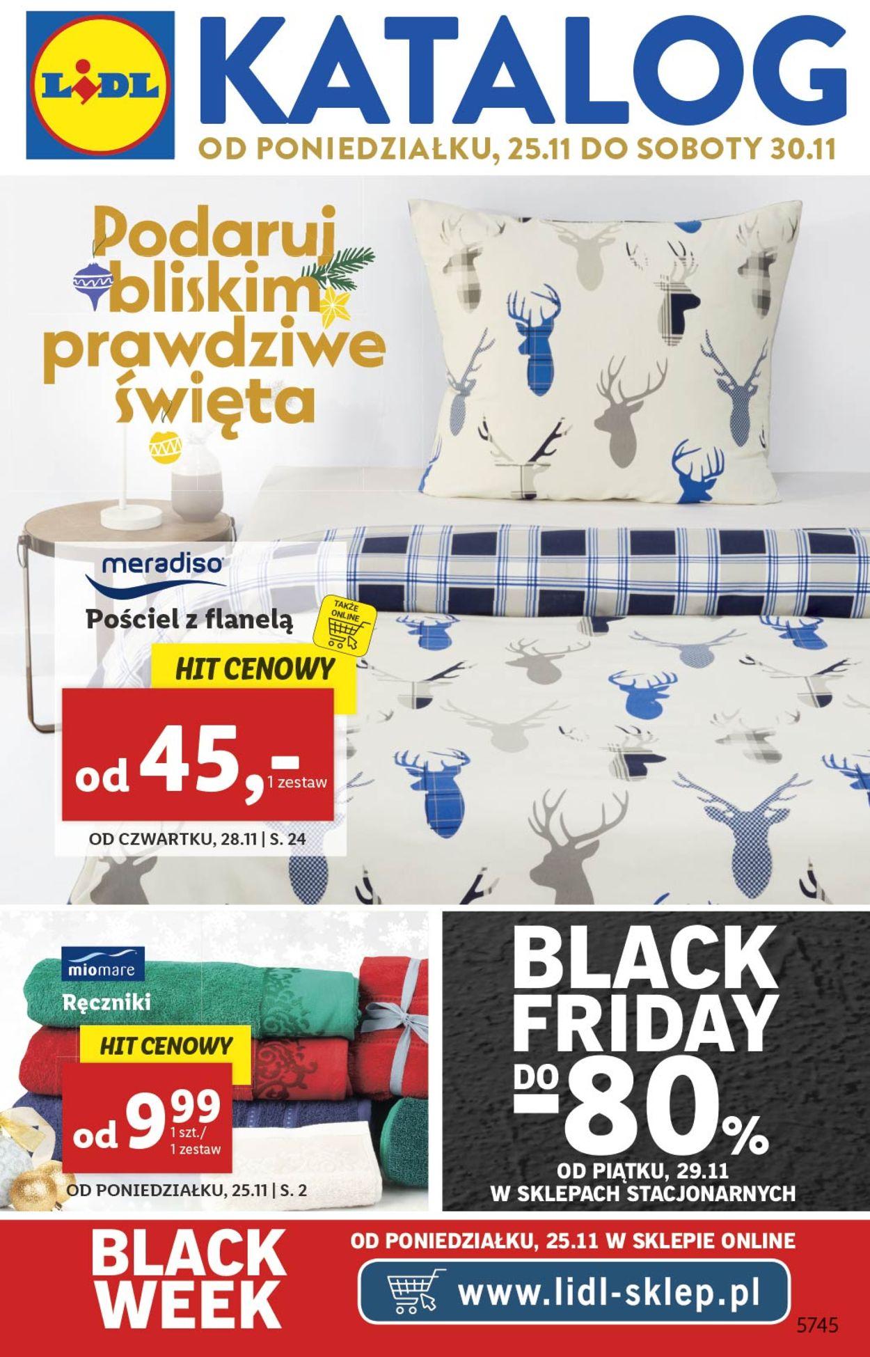 Gazetka promocyjna LIDL - Gazetka Black Friday 2019 - 25.11-30.11.2019