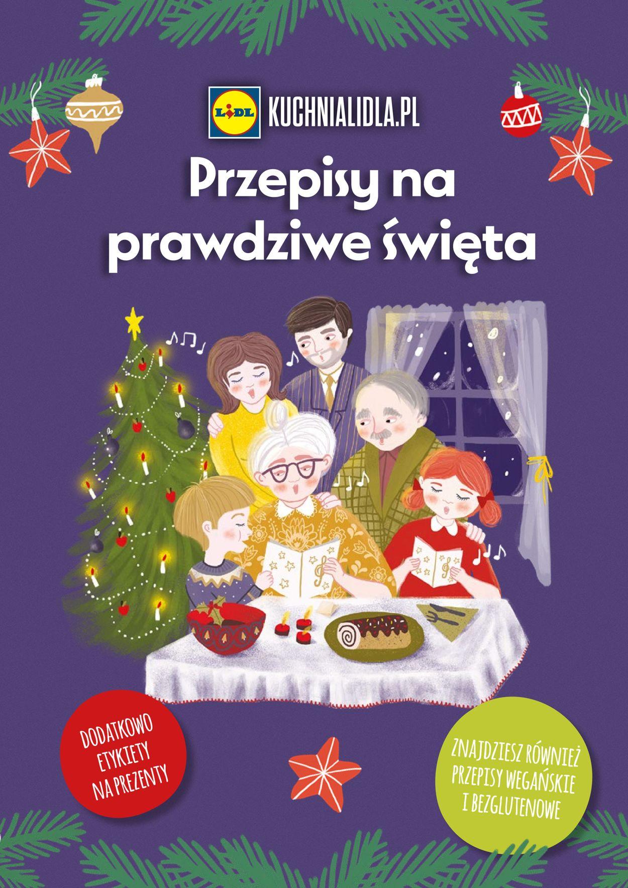 Gazetka promocyjna LIDL -Gazetka Świąteczna - 22.11-31.12.2019