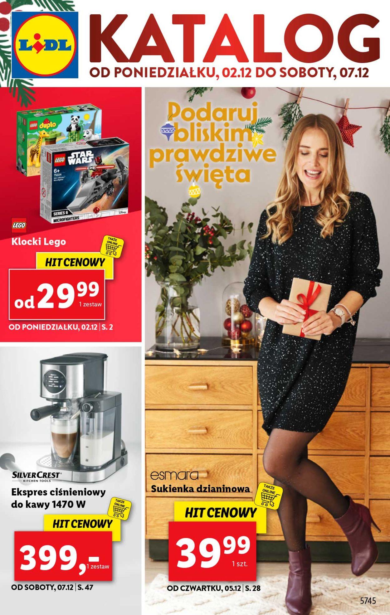 Gazetka promocyjna LIDL - Gazetka Cyber Monday 2019 - 02.12-07.12.2019