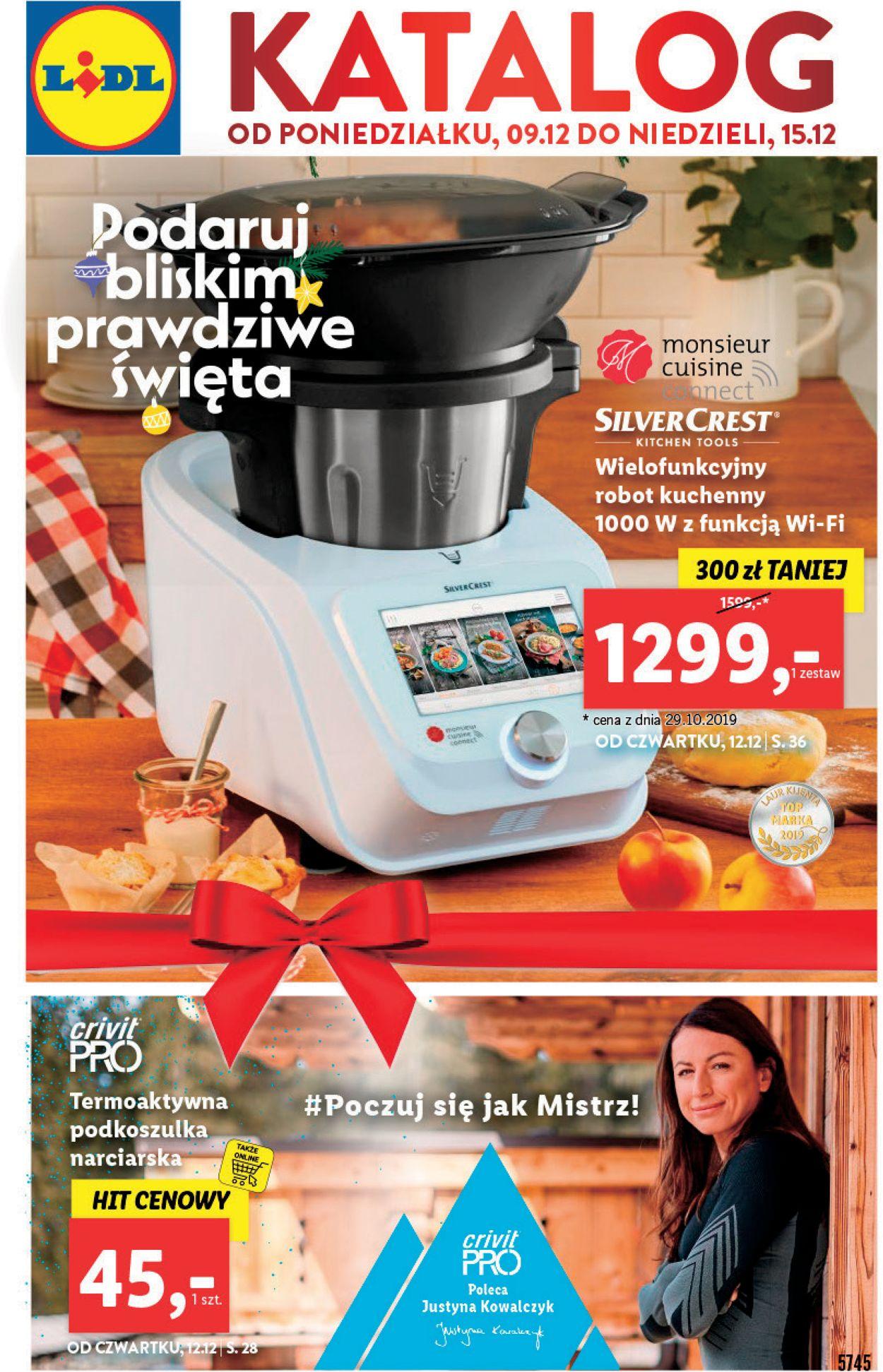 Gazetka promocyjna LIDL - Gazetka Świąteczna 2019 - 09.12-15.12.2019