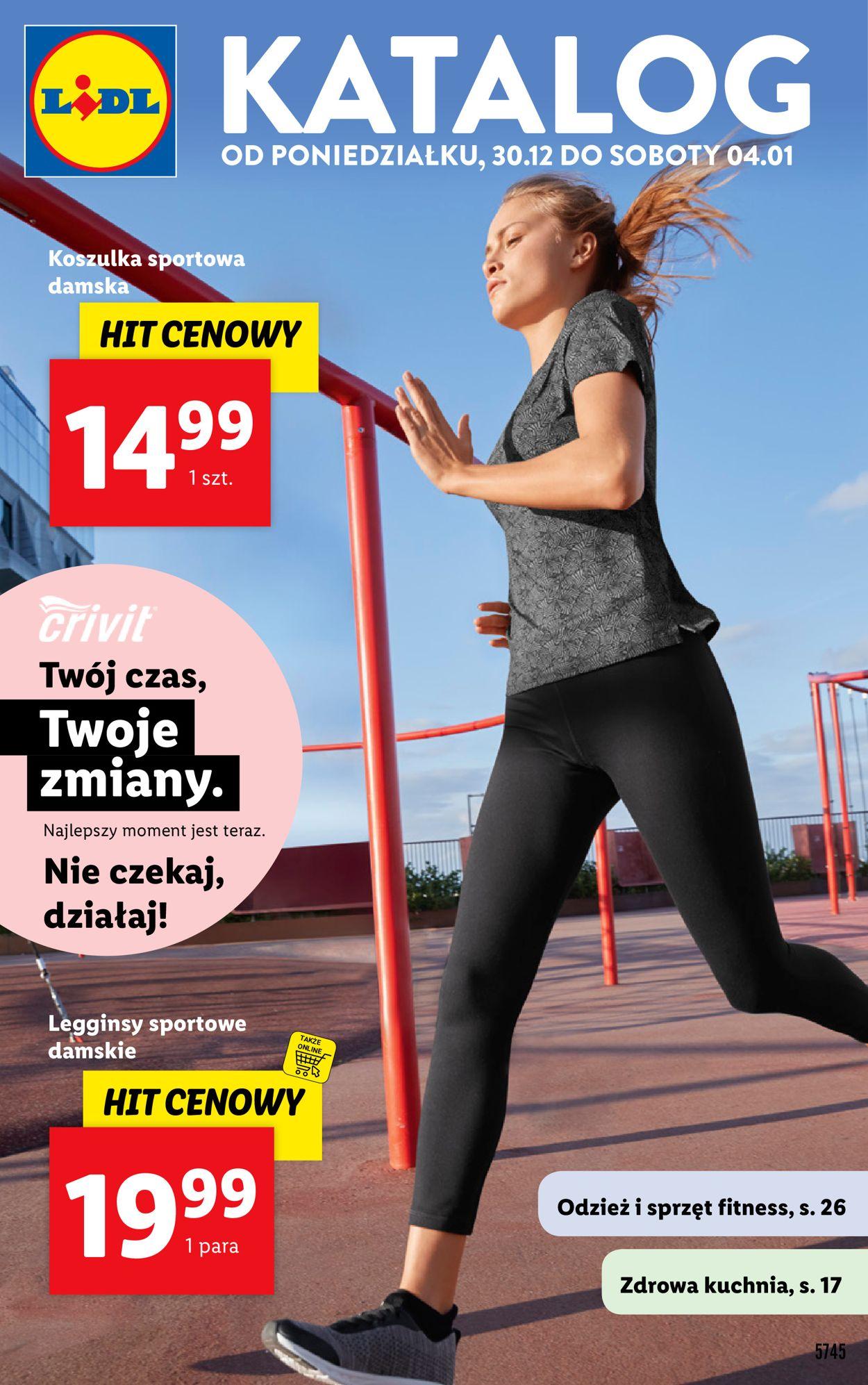 Gazetka promocyjna LIDL - 30.12-04.01.2020
