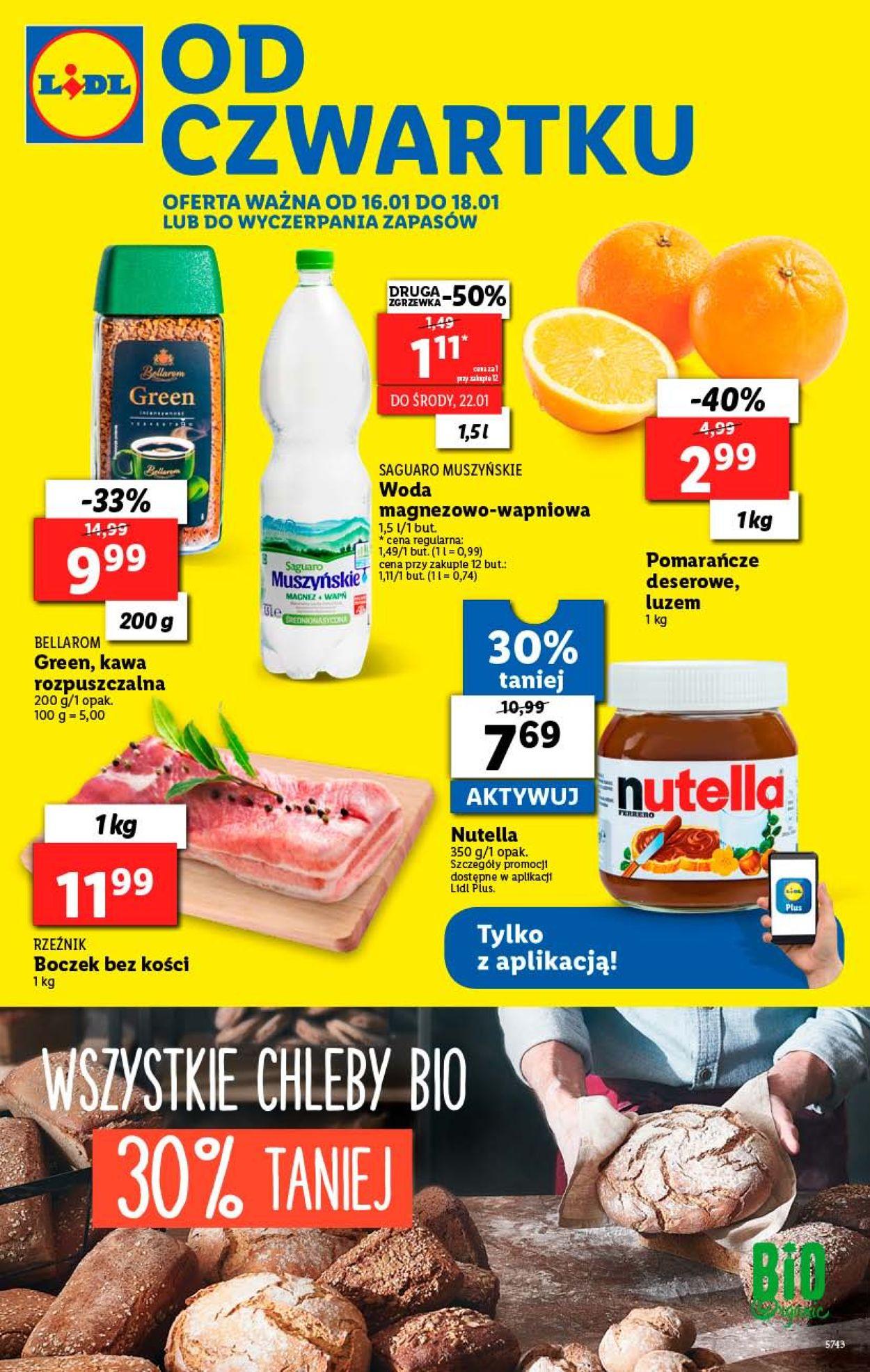 Gazetka promocyjna LIDL - 16.01-18.01.2020