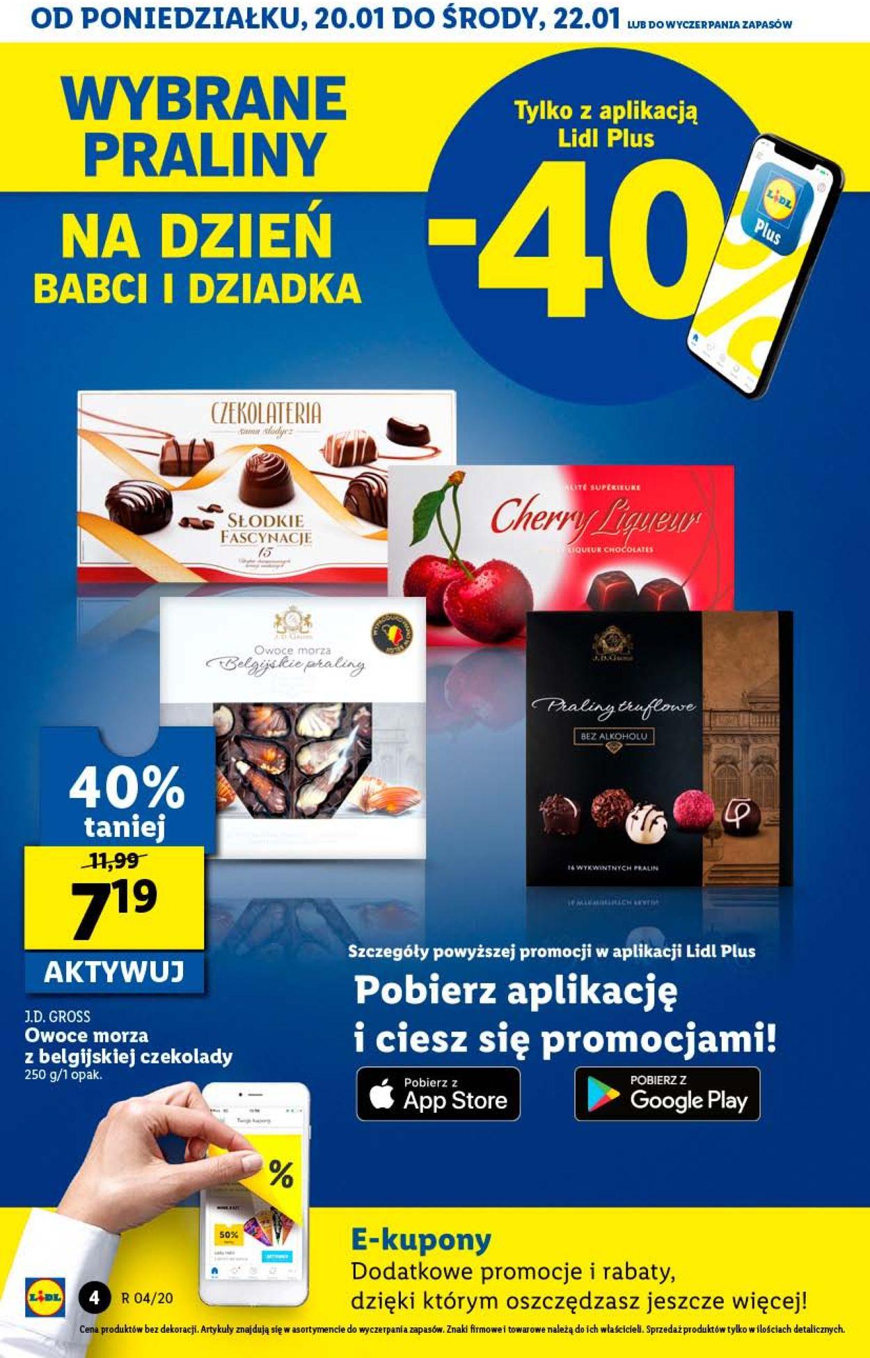 Gazetka promocyjna LIDL - 20.01-22.01.2020 (Strona 4)
