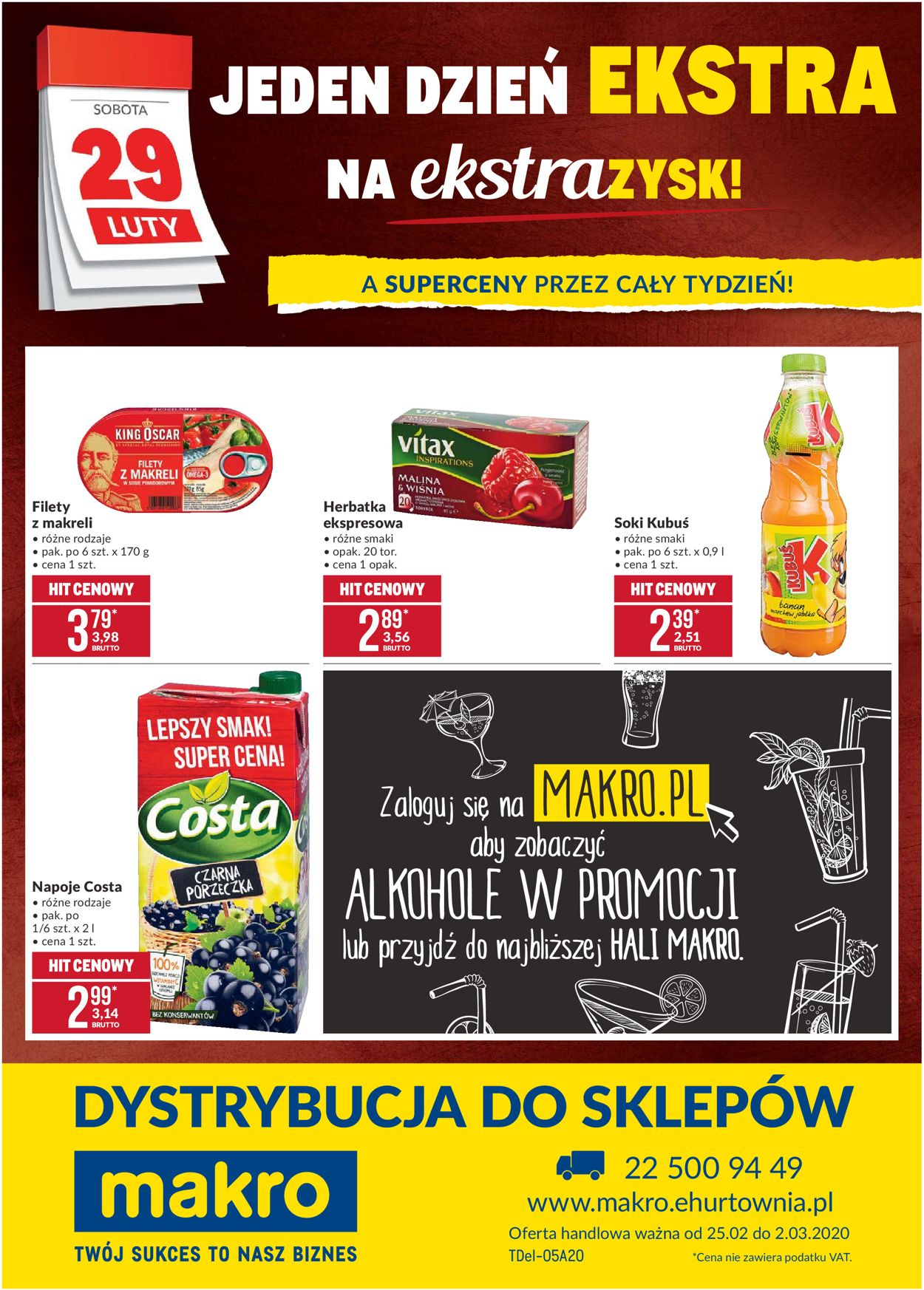 Gazetka promocyjna Makro - 25.02-02.03.2020