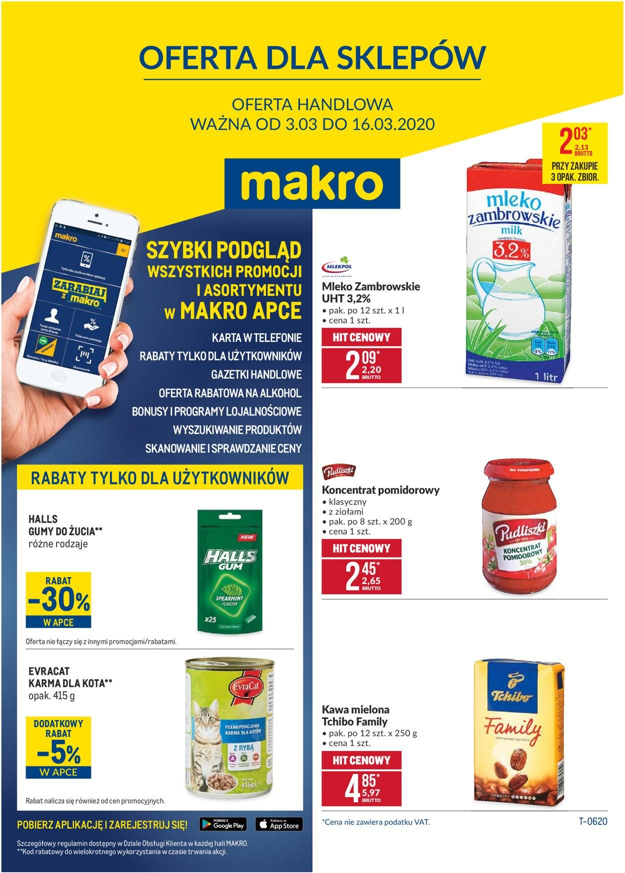 Gazetka promocyjna Makro - 03.03-16.03.2020