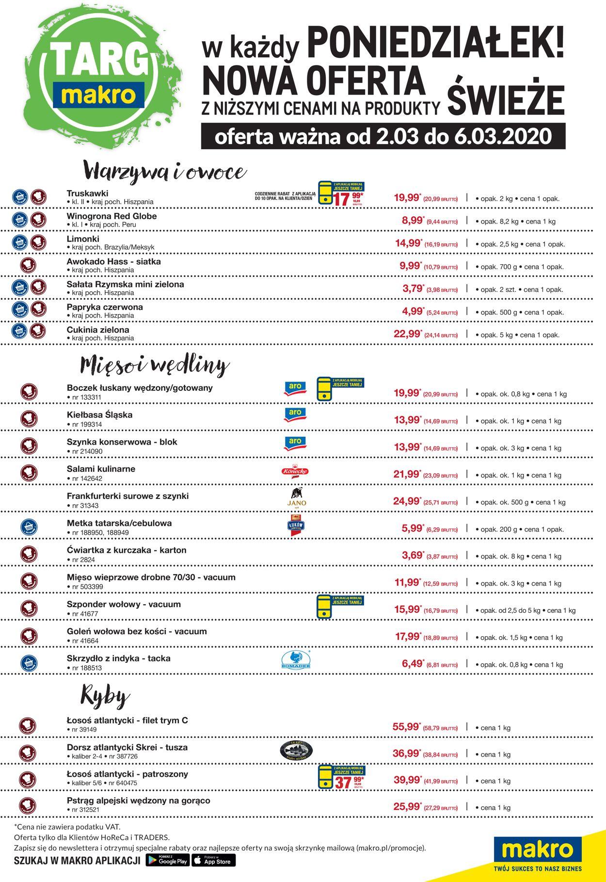 Gazetka promocyjna Makro - 02.03-06.03.2020 (Strona 2)