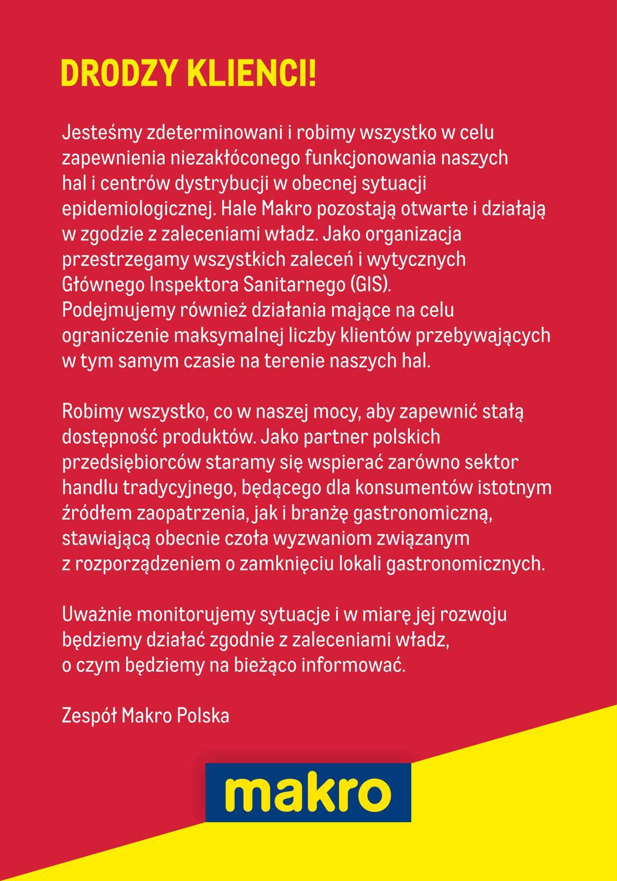 Gazetka promocyjna Makro - 14.03-31.03.2020