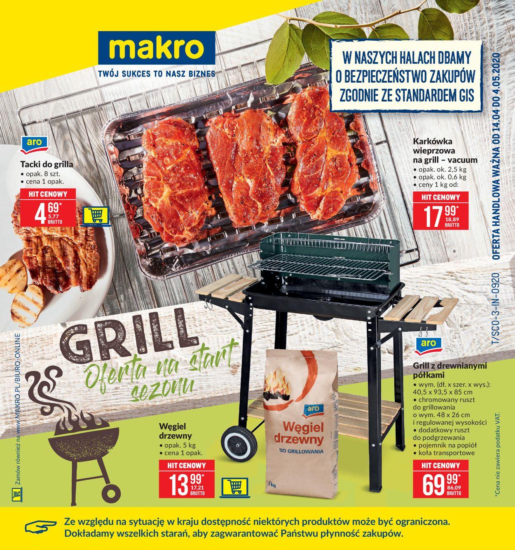 Gazetka promocyjna Makro - 14.04-26.04.2020