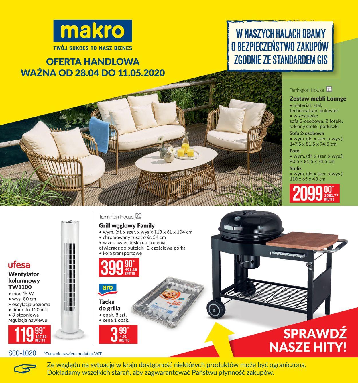 Gazetka promocyjna Makro - 28.04-11.05.2020