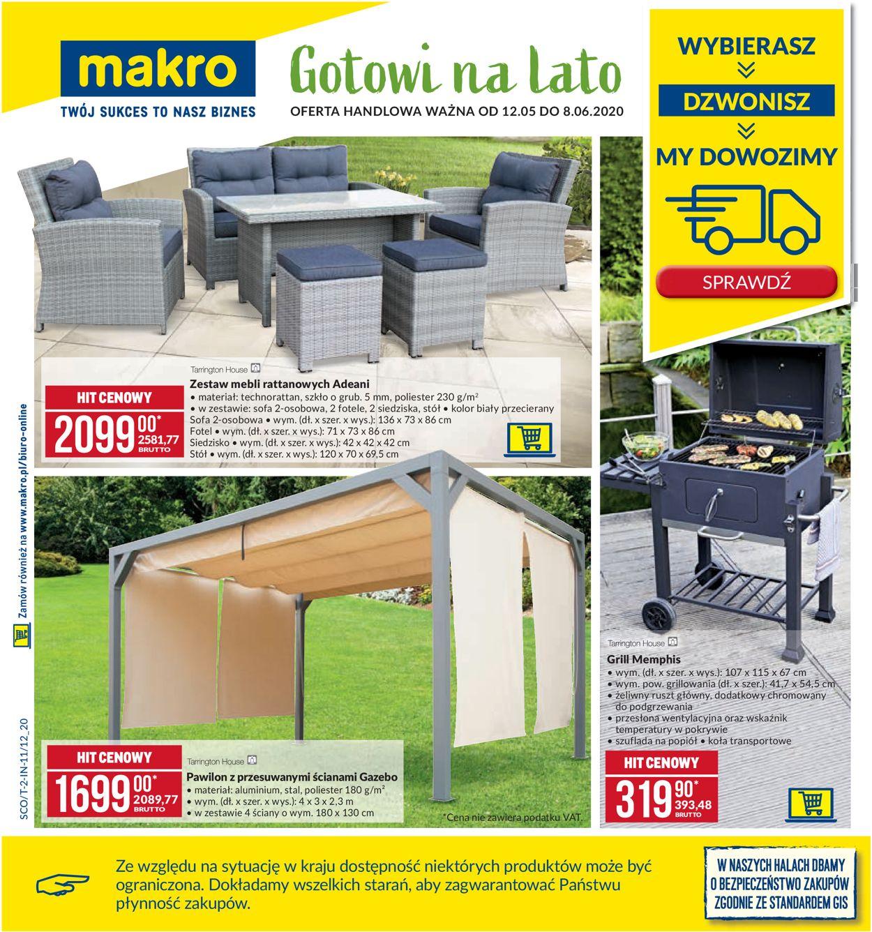 Gazetka promocyjna Makro - 12.05-08.06.2020