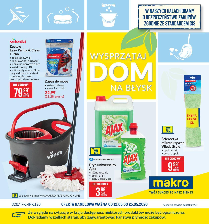 Gazetka promocyjna Makro - 12.05-25.05.2020