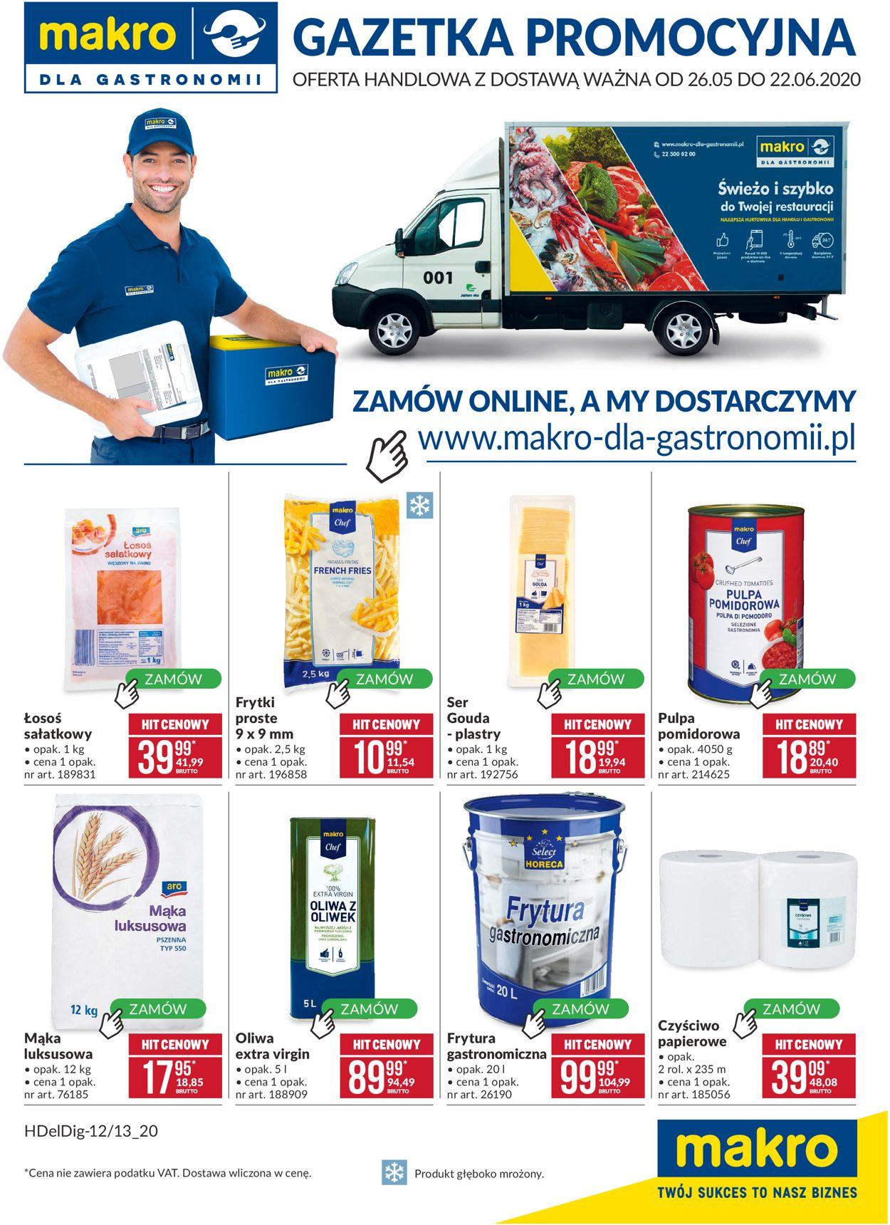 Gazetka promocyjna Makro - 26.05-22.06.2020