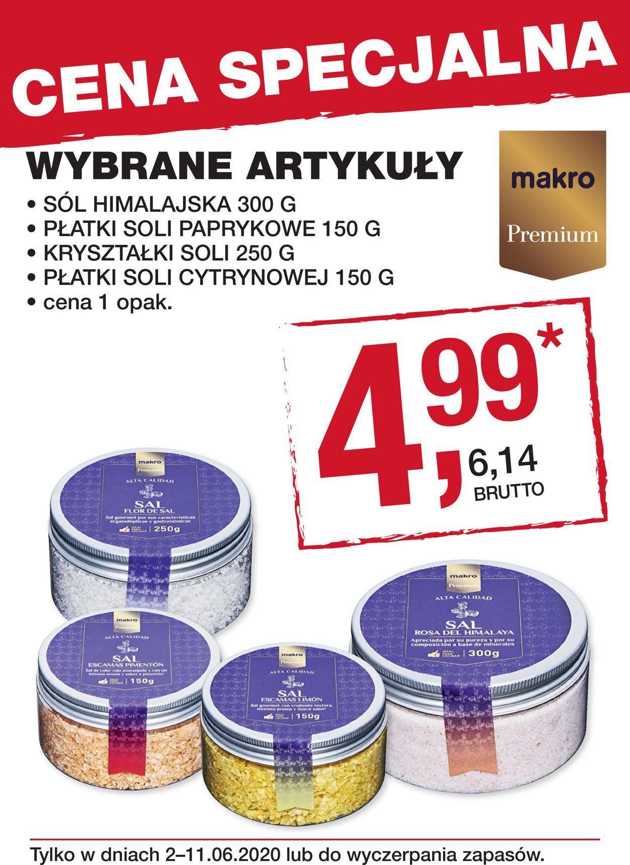 Gazetka promocyjna Makro - 14.05-11.06.2020