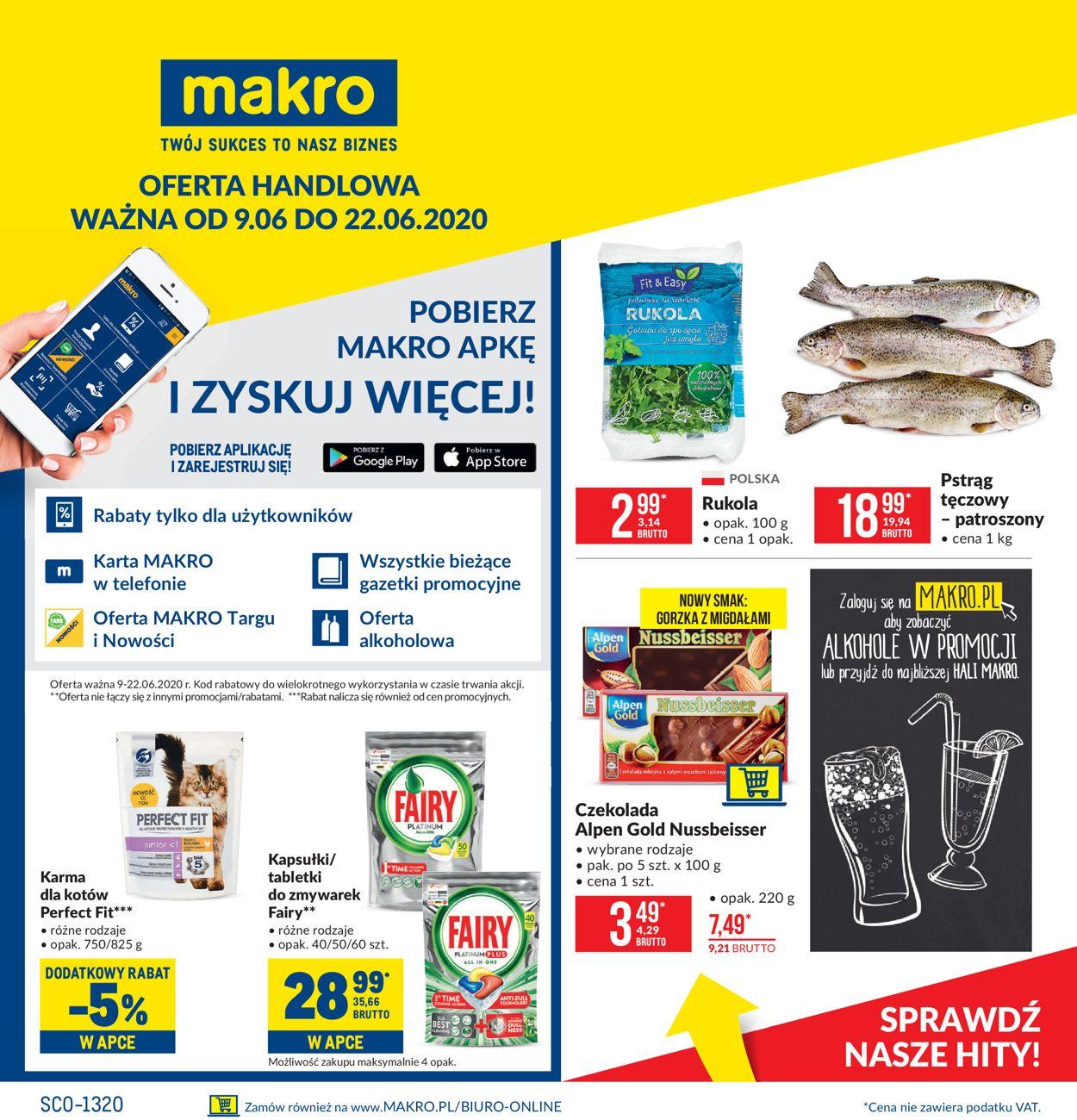 Gazetka promocyjna Makro - 09.06-22.06.2020