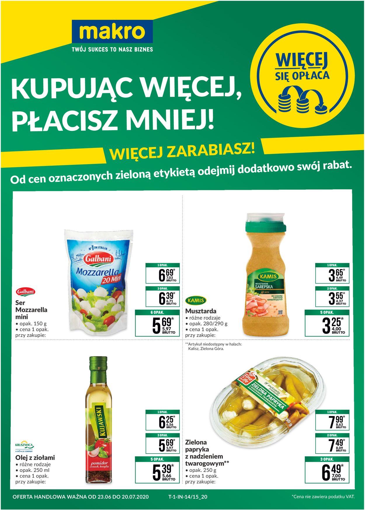 Gazetka promocyjna Makro - 23.06-20.07.2020