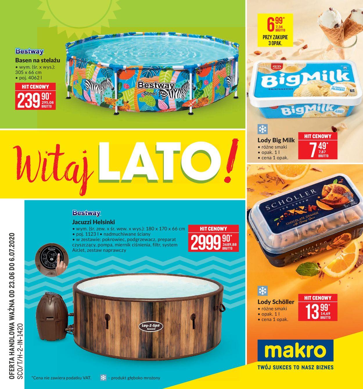 Gazetka promocyjna Makro - 23.06-06.07.2020