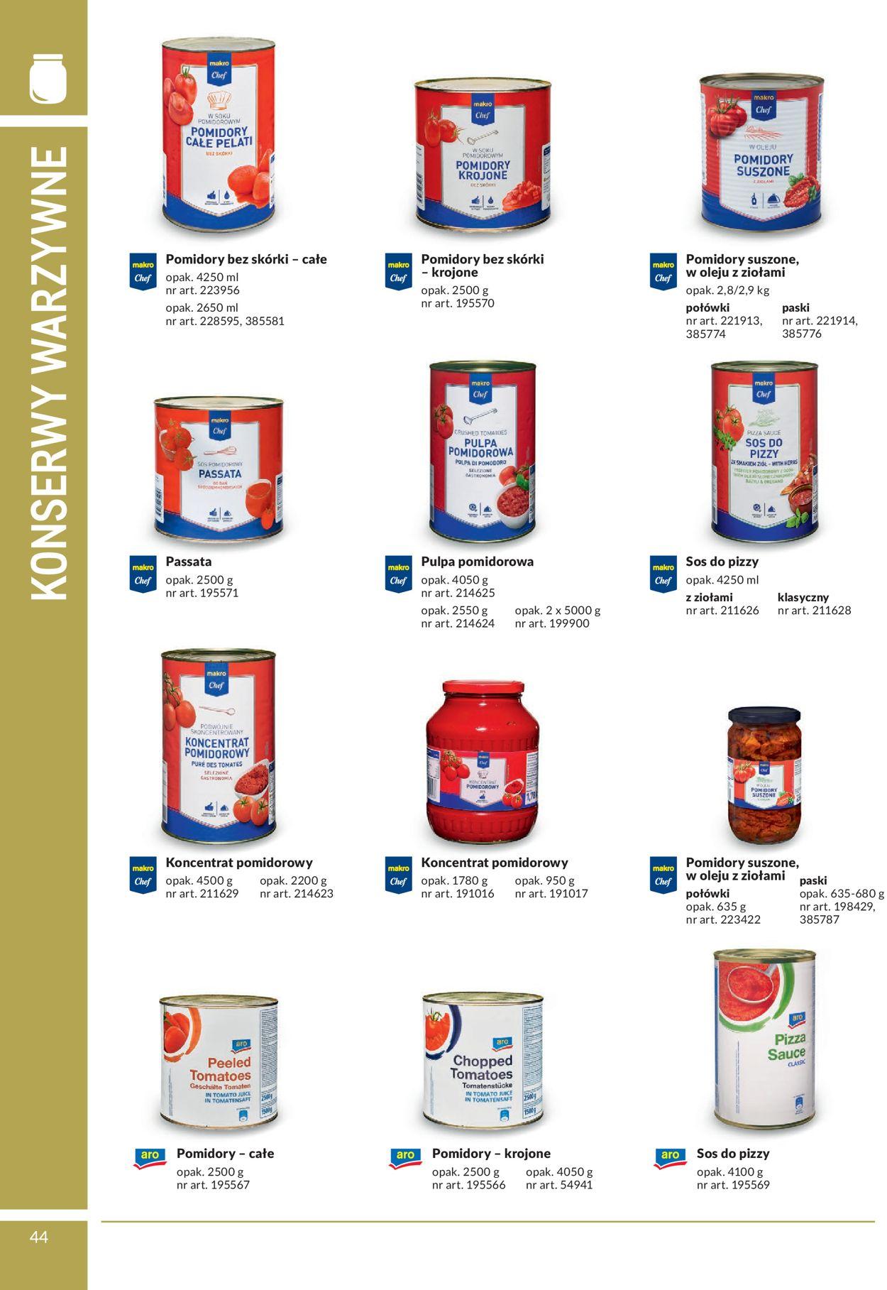 Gazetka promocyjna Makro - 02.03-31.08.2020 (Strona 44)