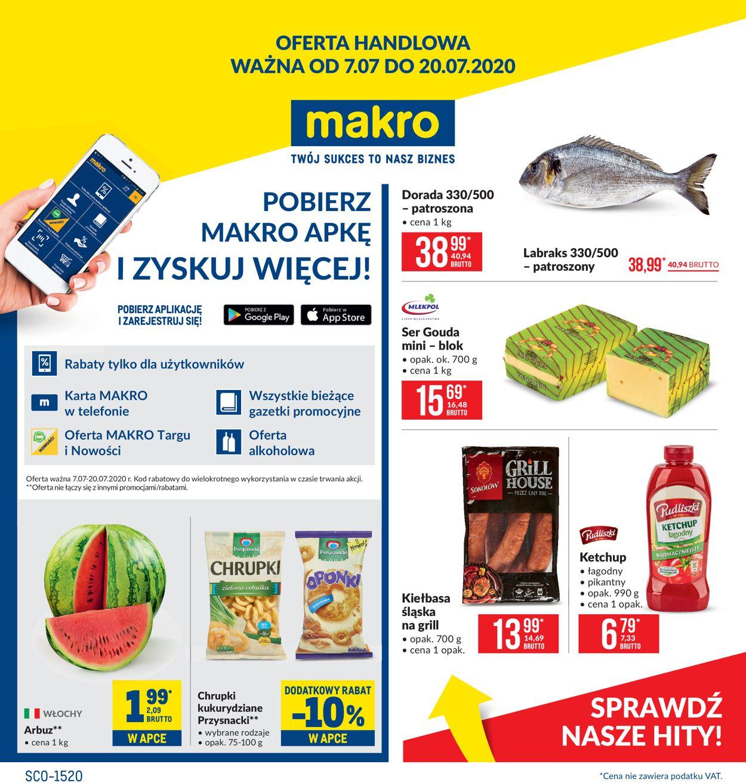 Gazetka promocyjna Makro - 07.07-20.07.2020