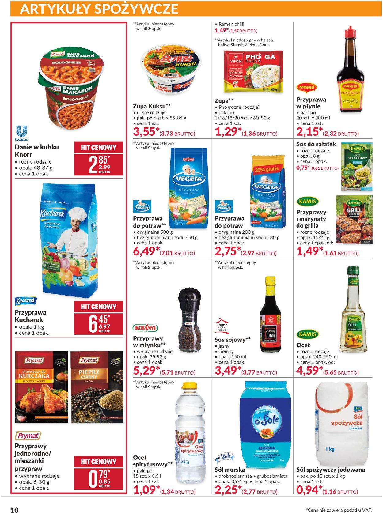 Gazetka promocyjna Makro - 04.08-17.08.2020 (Strona 10)