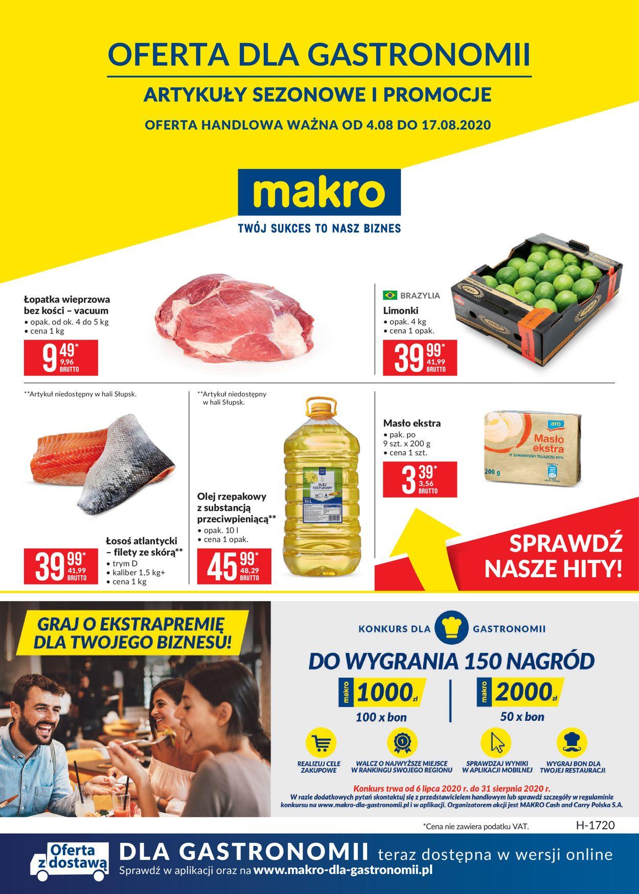 Gazetka promocyjna Makro - 04.08-17.08.2020