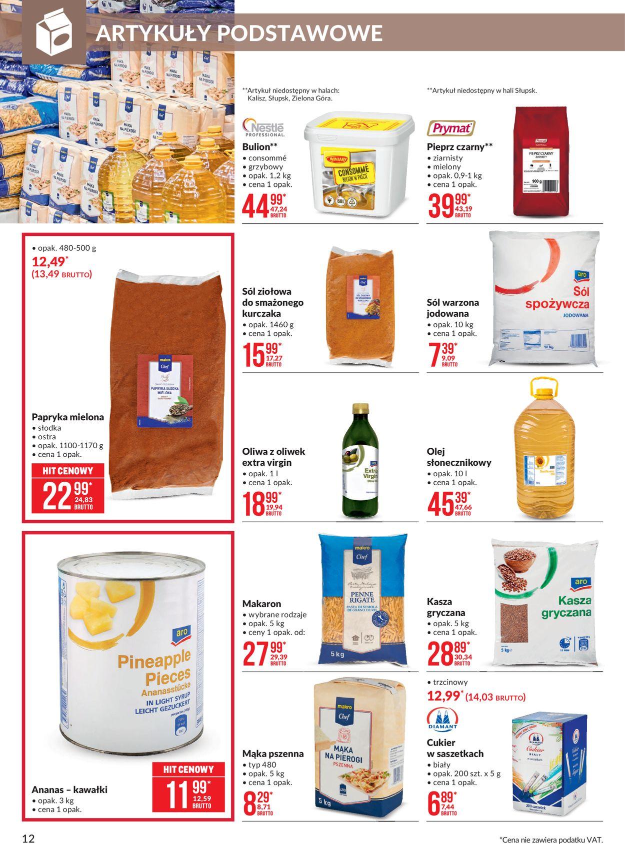 Gazetka promocyjna Makro - 04.08-17.08.2020 (Strona 12)