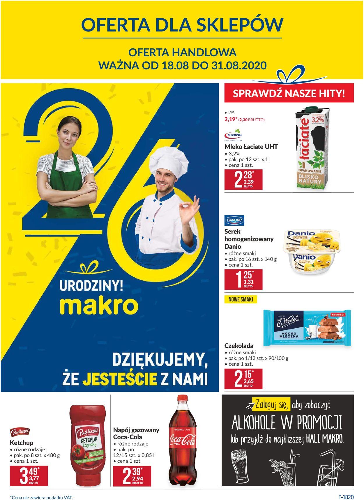 Gazetka promocyjna Makro - 18.08-31.08.2020