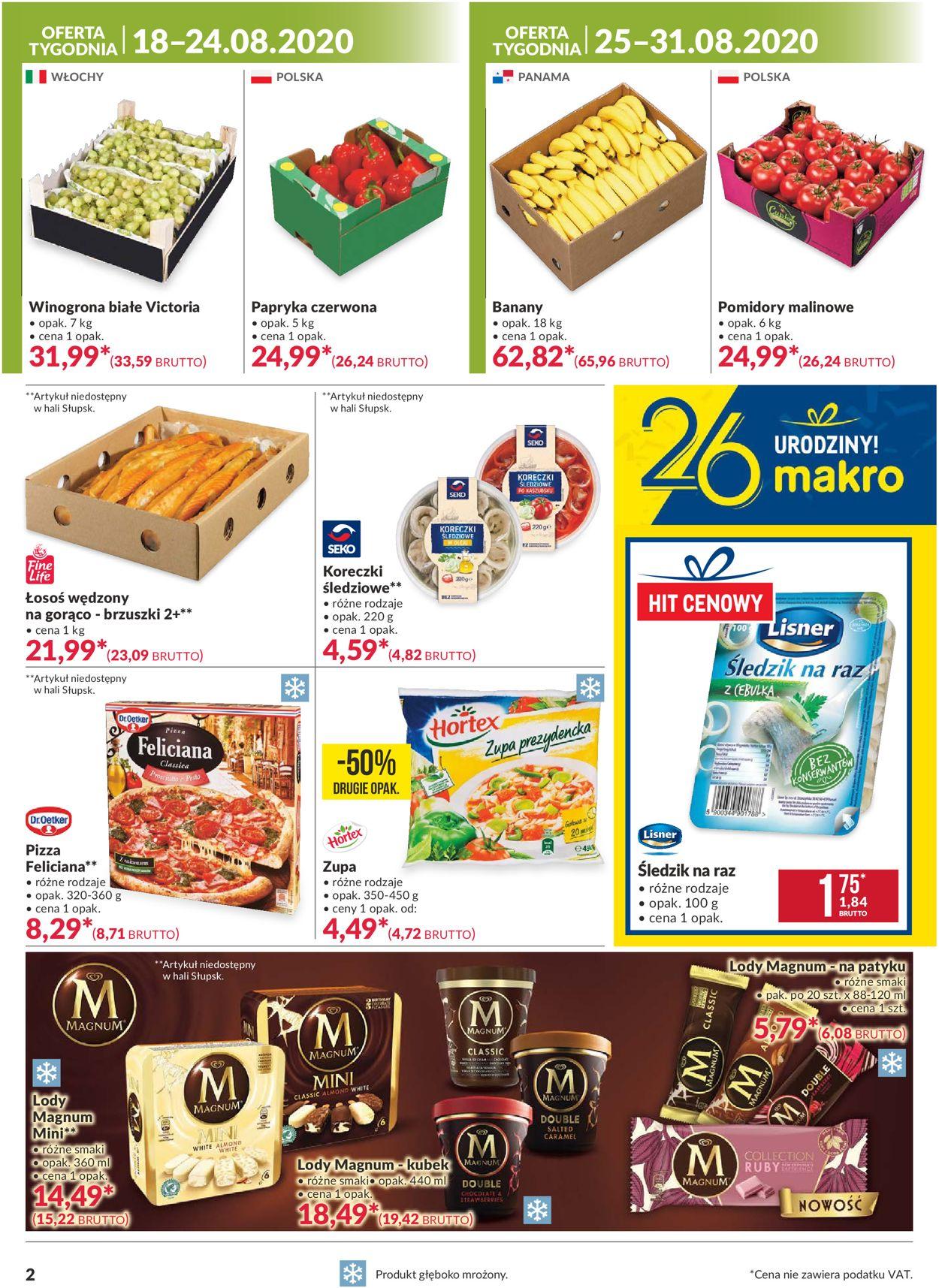 Gazetka promocyjna Makro - 18.08-31.08.2020 (Strona 2)