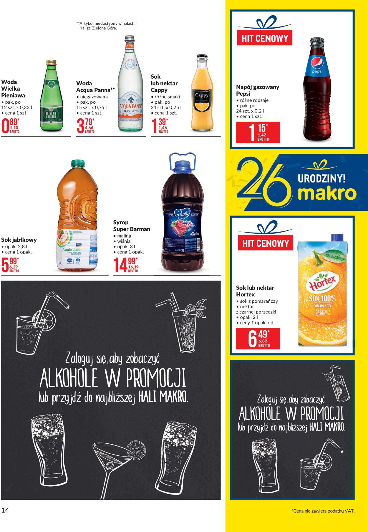 Gazetka promocyjna Makro - 01.09-14.09.2020 (Strona 14)