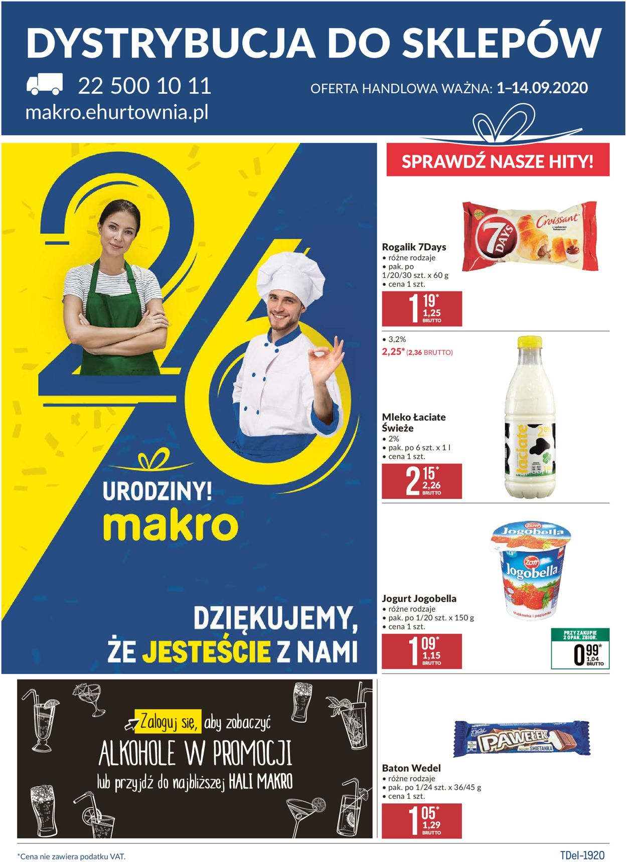 Gazetka promocyjna Makro - 01.09-14.09.2020