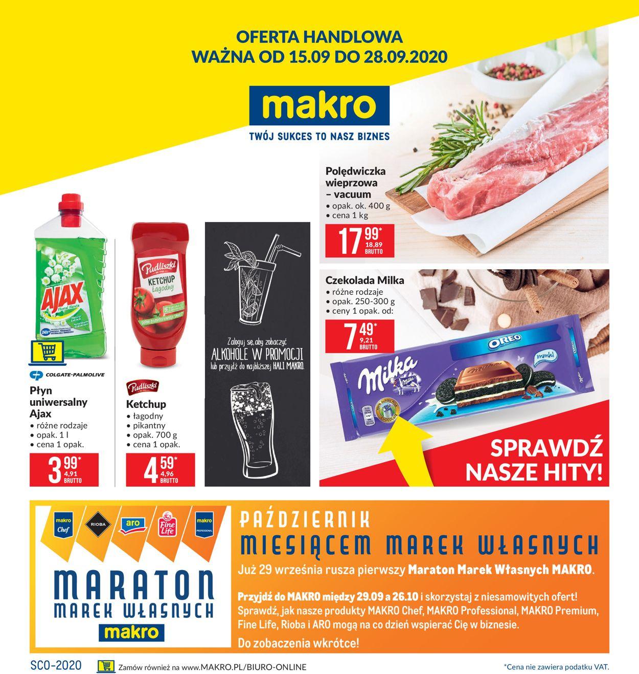 Gazetka promocyjna Makro - 15.09-28.09.2020