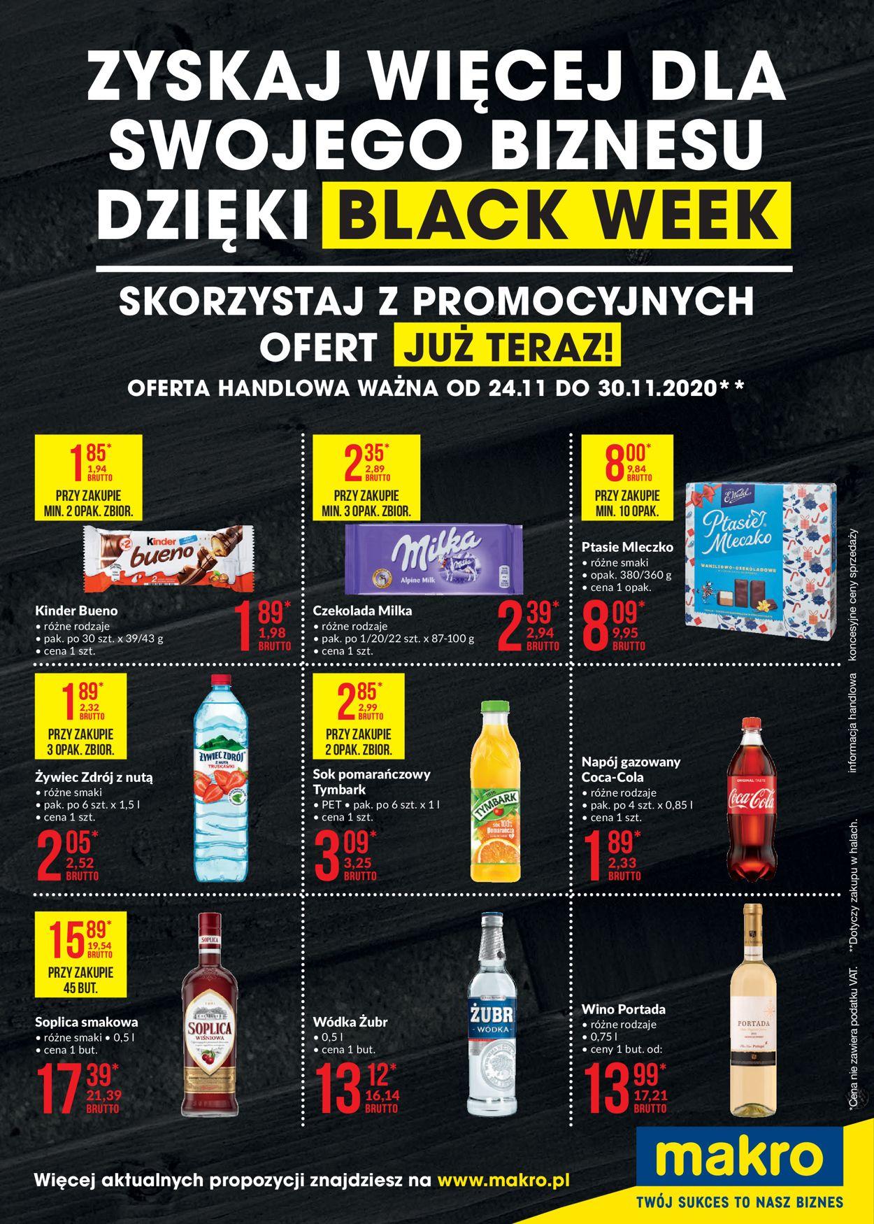 Gazetka promocyjna Makro - Black Week 2020 - 24.11-30.11.2020