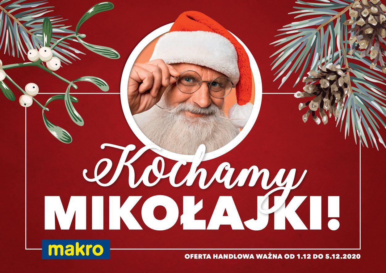 Gazetka promocyjna Makro Gazetka Świąteczna 2020 - 01.12-05.12.2020