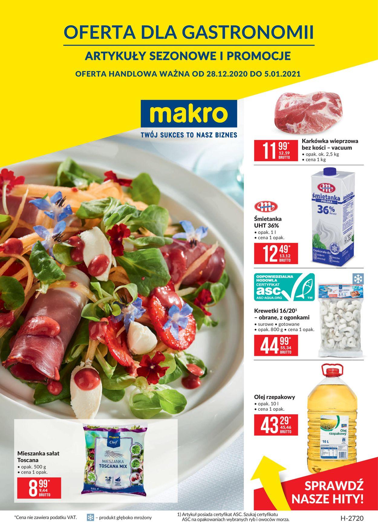 Gazetka promocyjna Makro - 28.12-05.01.2021