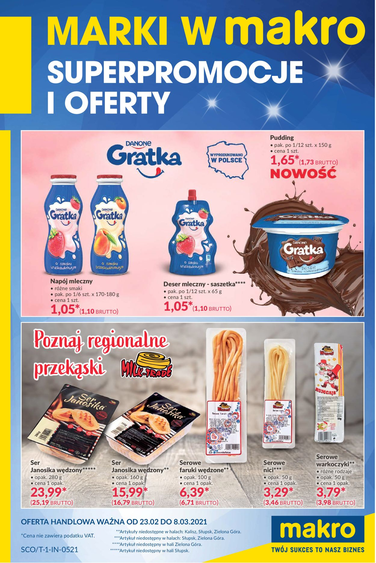 Gazetka promocyjna Makro Marki w MAKRO - 23.02-08.03.2021