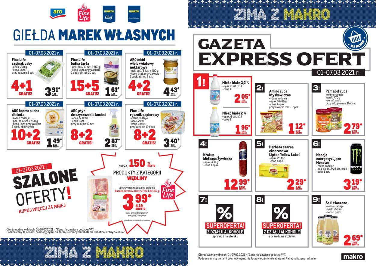 Gazetka promocyjna Makro Express ofert - 01.03-07.03.2021