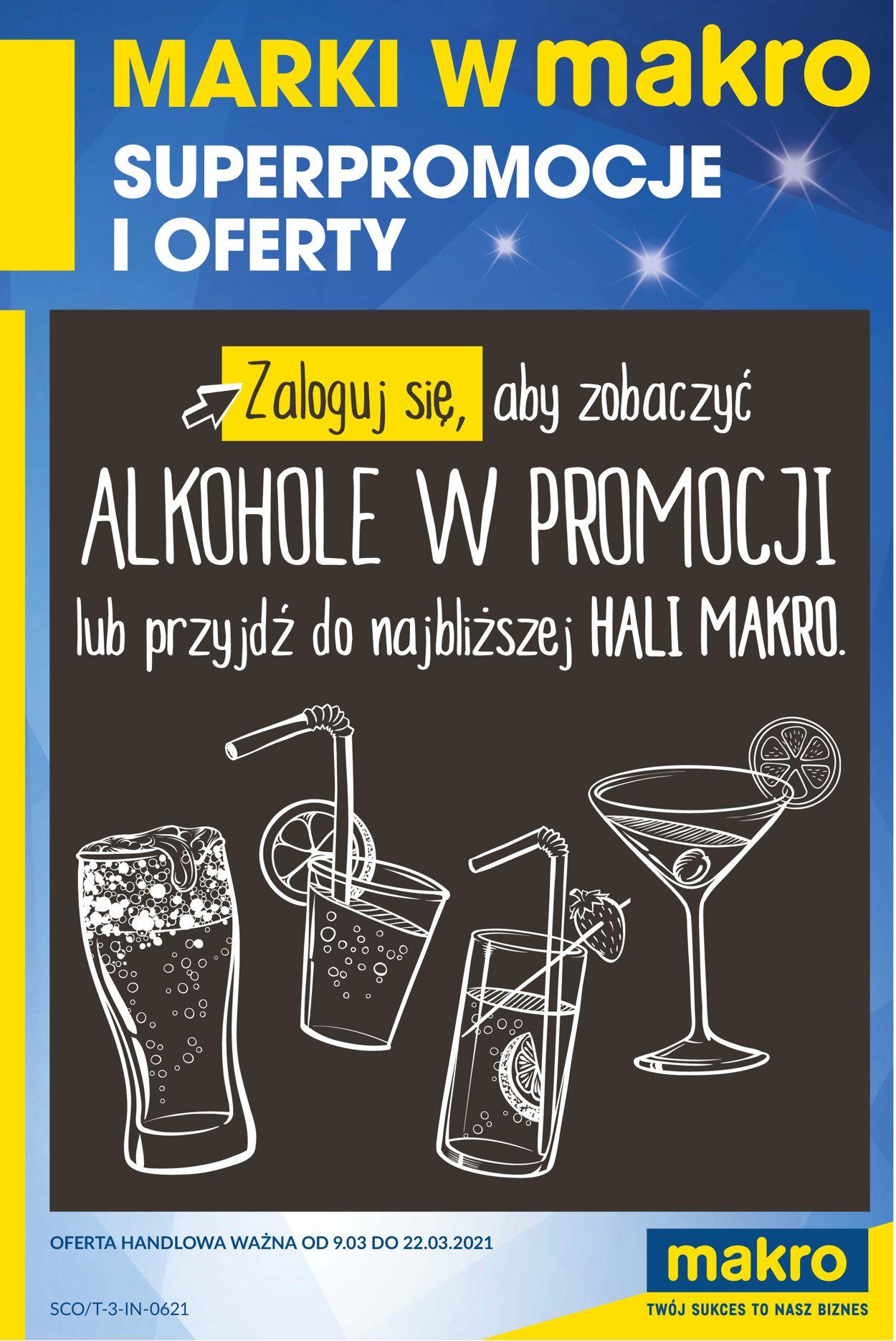 Gazetka promocyjna Makro Marki w MAKRO - 09.03-22.03.2021