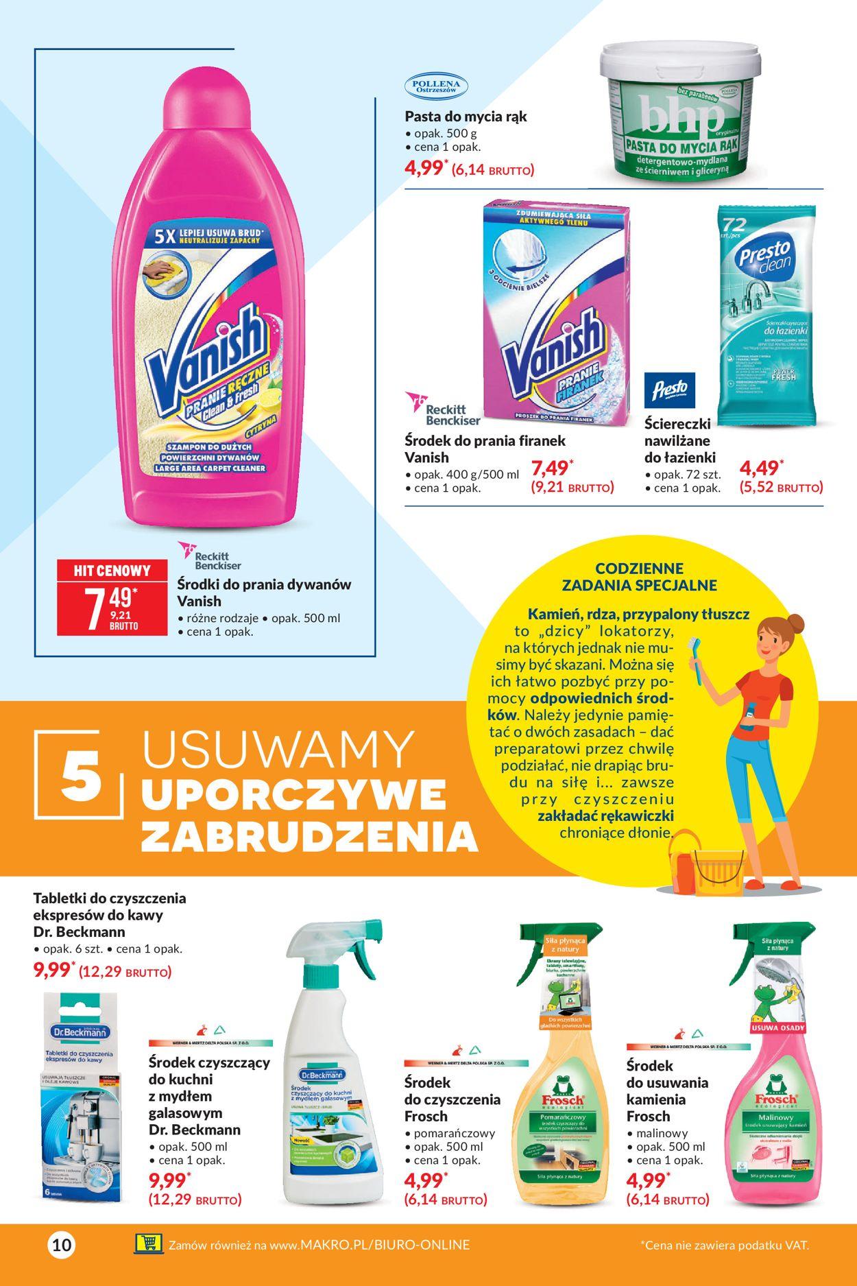 Gazetka promocyjna Makro Wiosenne wyzwanie - 09.03-22.03.2021 (Strona 10)