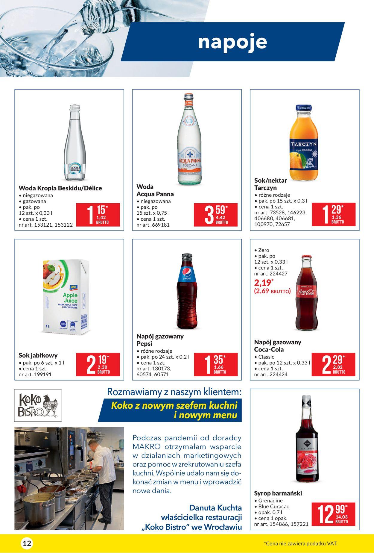 Gazetka promocyjna Makro Artykuły spożywcze - 09.03-22.03.2021 (Strona 12)
