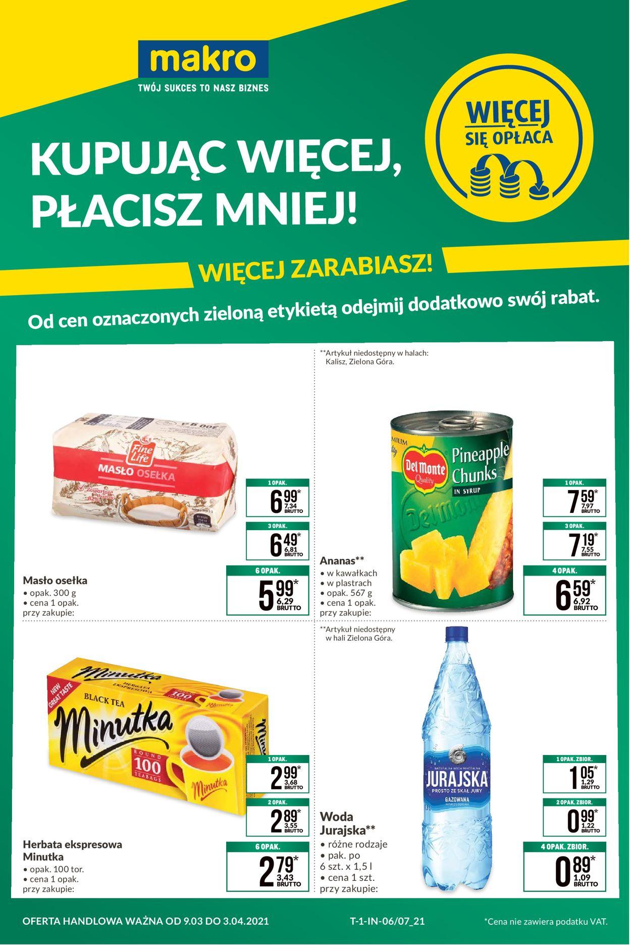 Gazetka promocyjna Makro - 09.03-03.04.2021