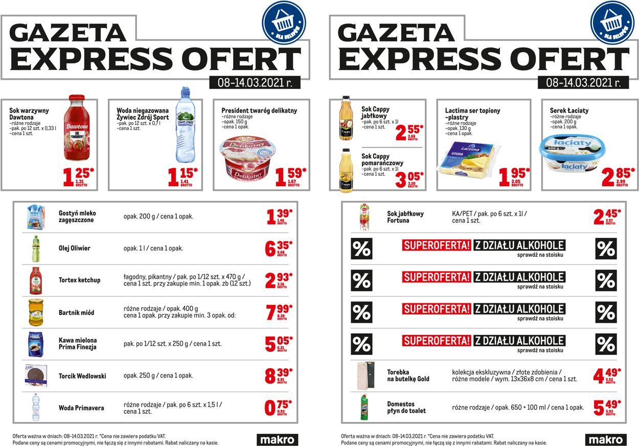 Gazetka promocyjna Makro Express ofert - 08.03-14.03.2021