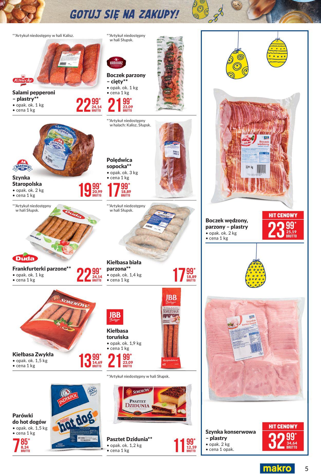 Gazetka promocyjna Makro Wielkanoc 2021! - 23.03-03.04.2021 (Strona 5)