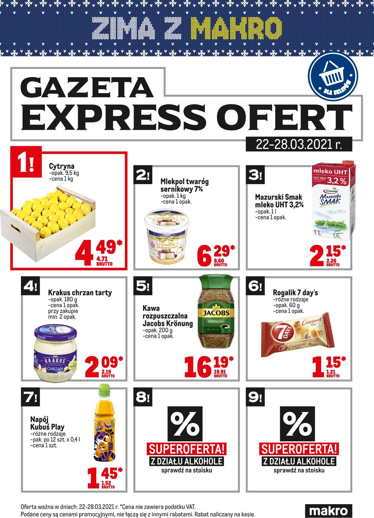 Gazetka promocyjna Makro Express ofert - 22.03-28.03.2021