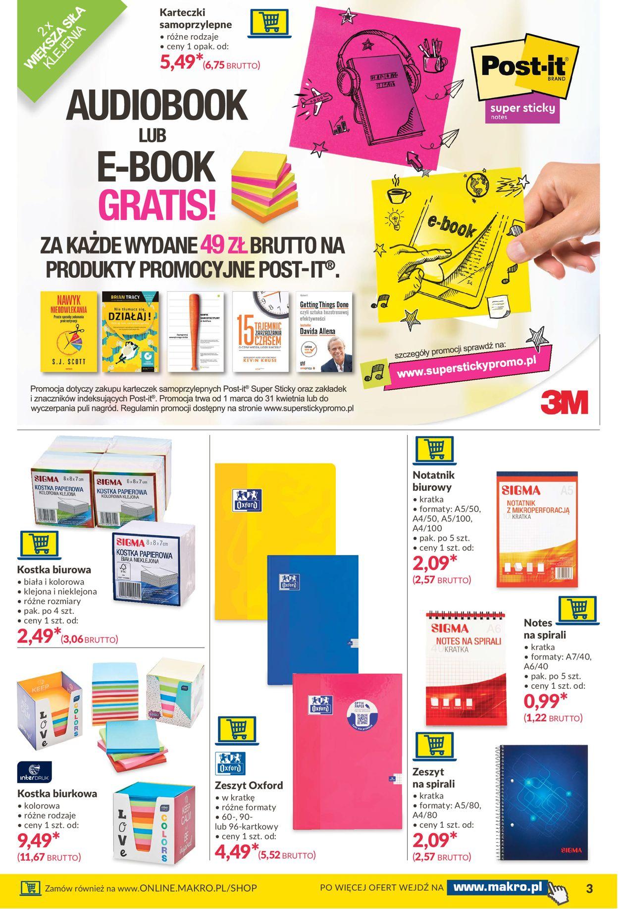 Gazetka promocyjna Makro Twoje Biuro - 06.04-19.04.2021 (Strona 3)