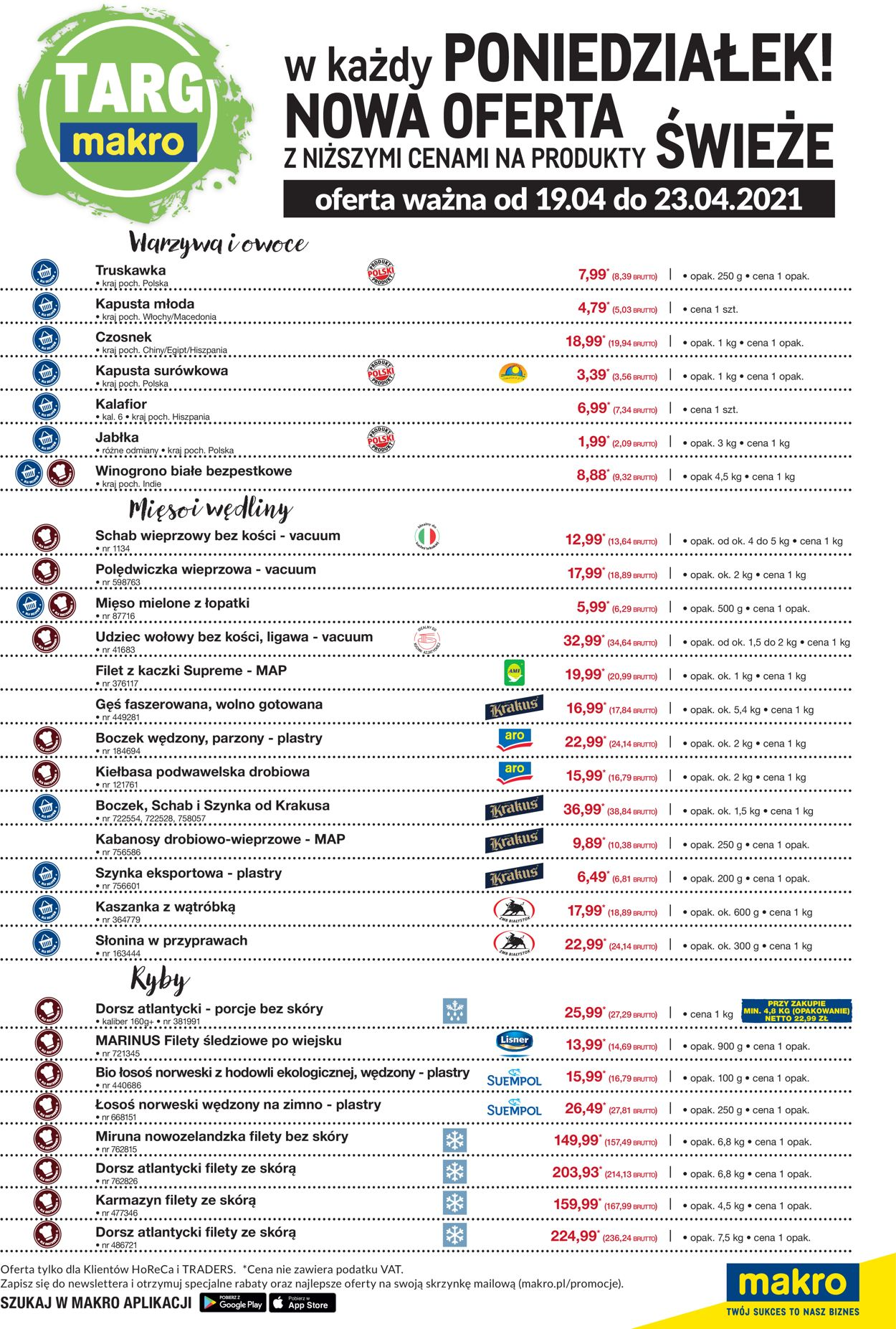 Gazetka promocyjna Makro - 19.04-23.04.2021 (Strona 2)
