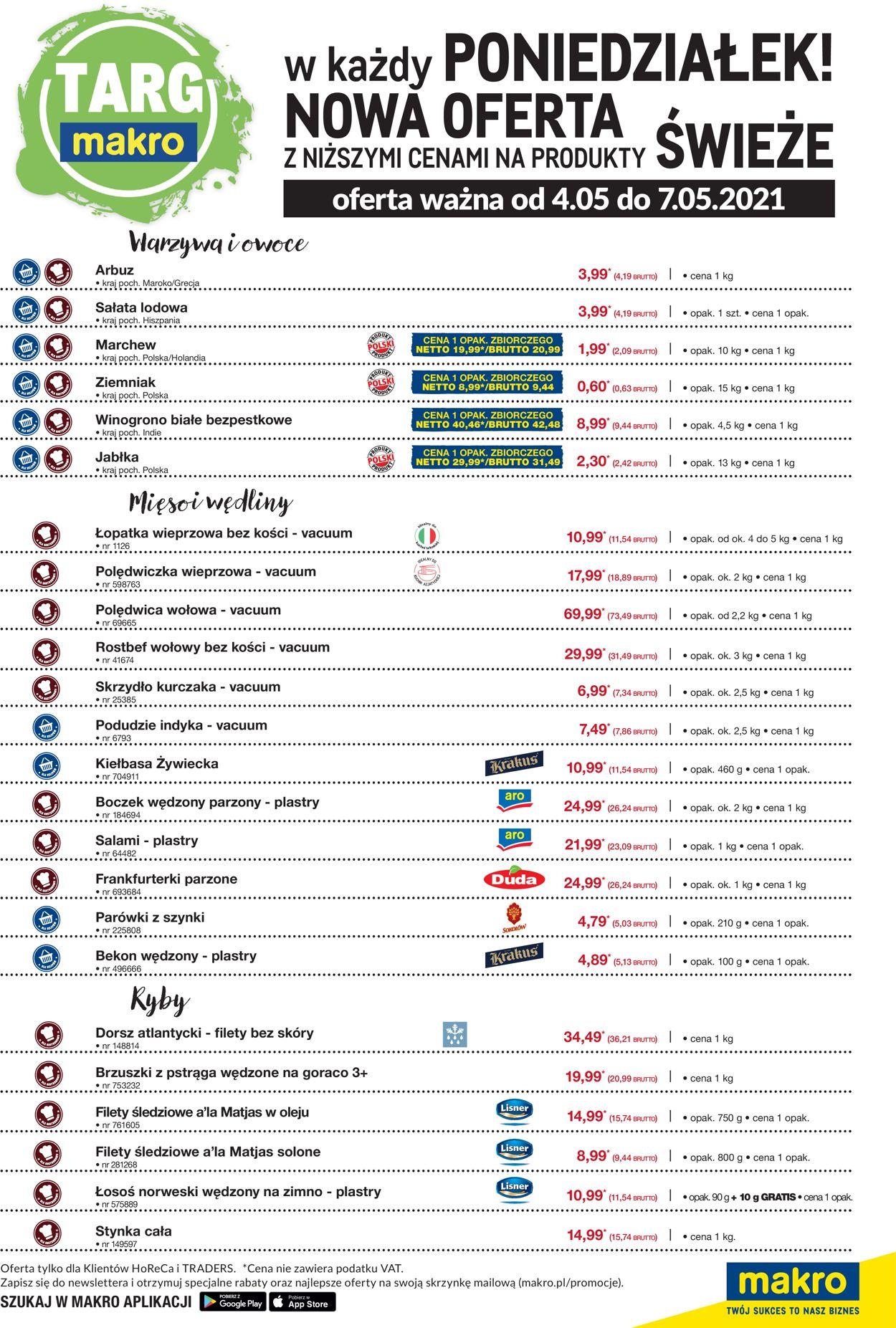 Gazetka promocyjna Makro - 04.05-07.05.2021 (Strona 2)