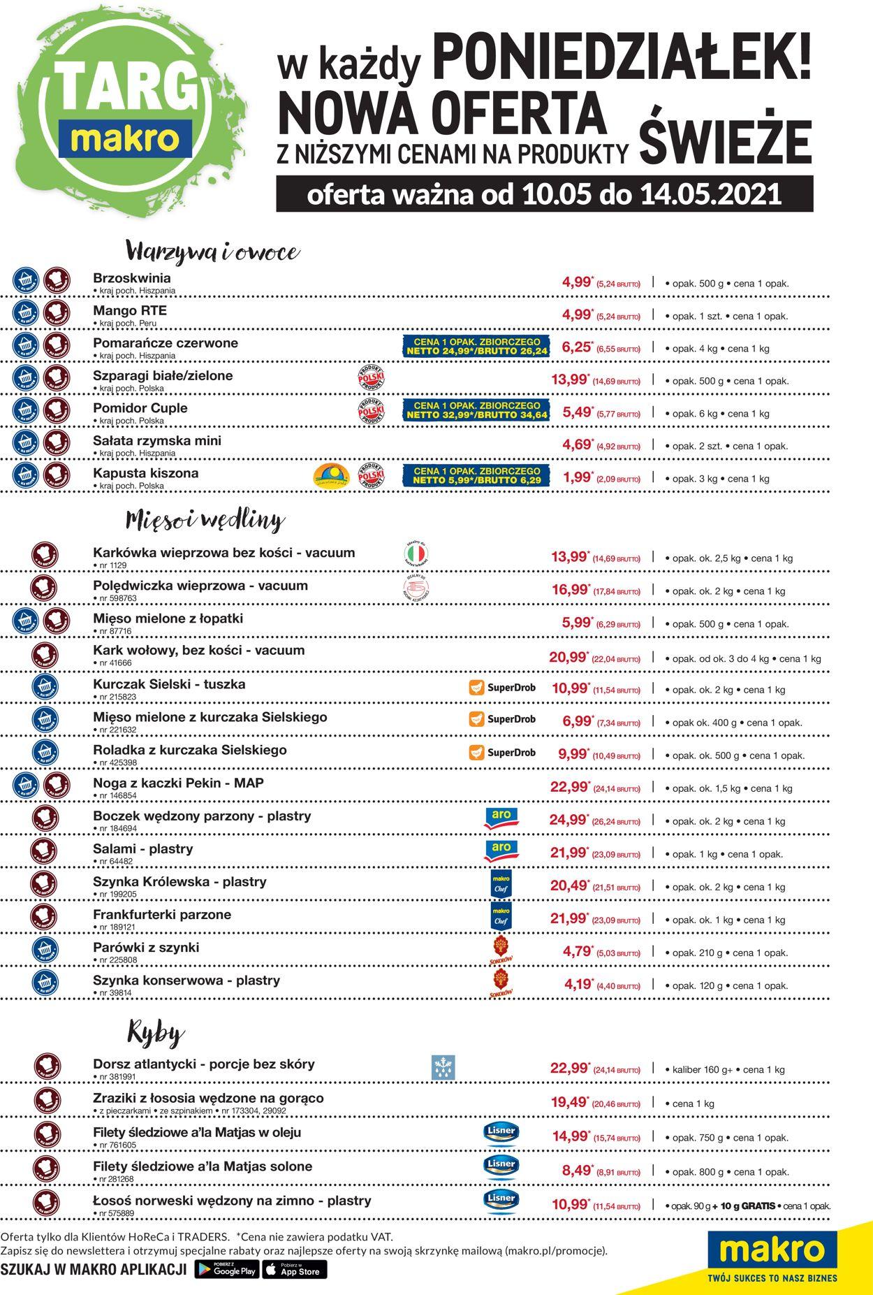 Gazetka promocyjna Makro - 10.05-14.05.2021 (Strona 2)