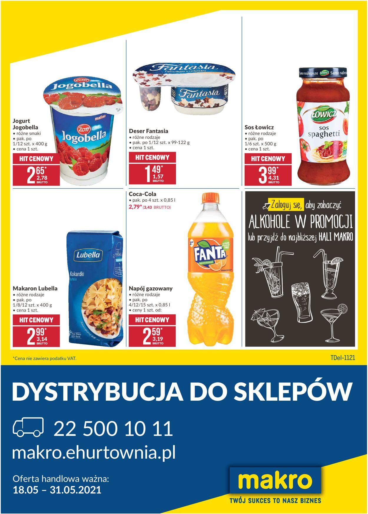 Gazetka promocyjna Makro Dostawa - 18.05-31.05.2021
